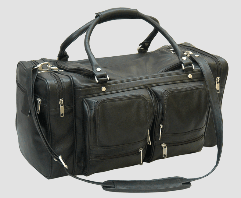Leather Luggage Duffel Bag #4206