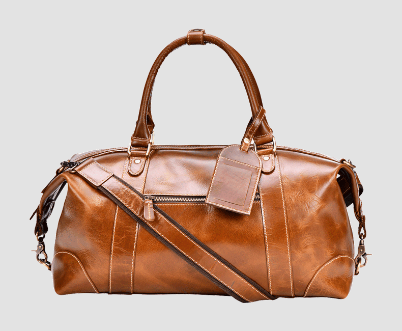 Leather DuffelBag #4211