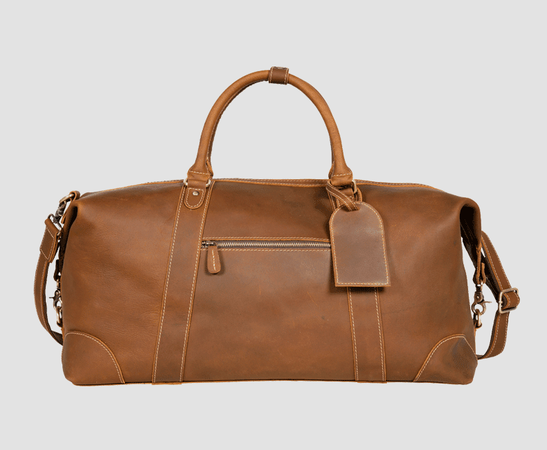 Leather Duffel Bag #4205