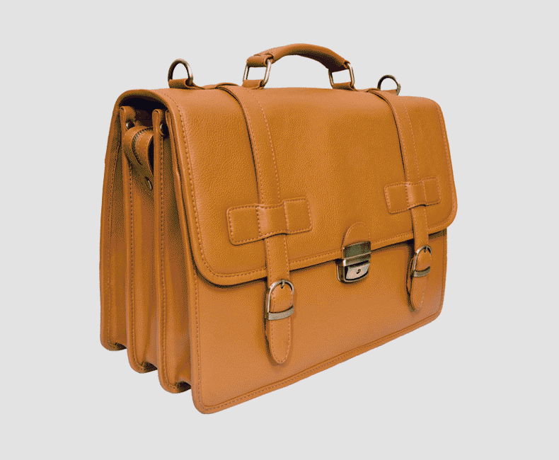 double_gusetted laptop_leather_exective bag_4323