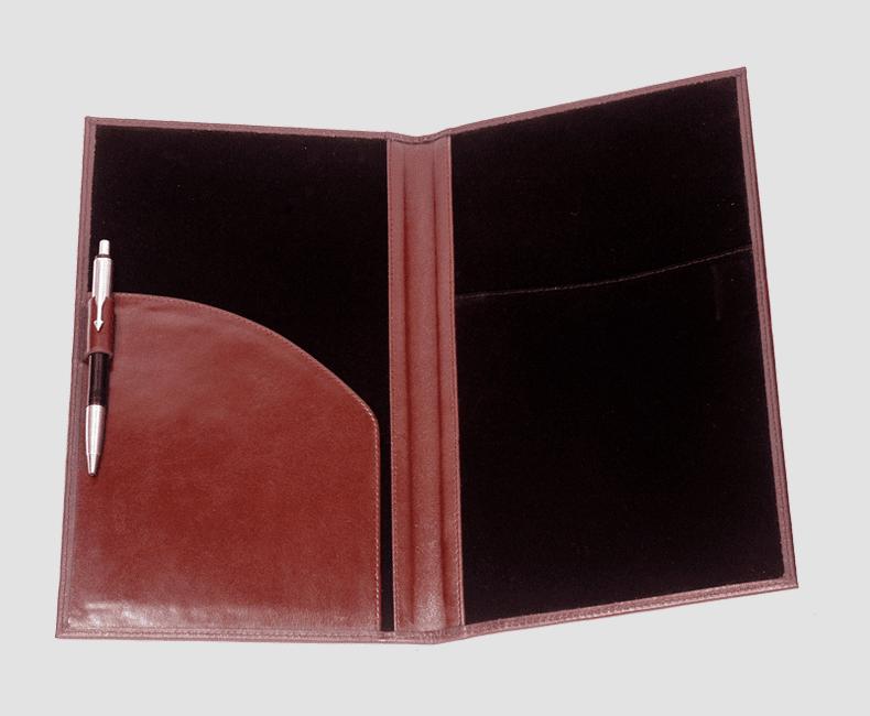 custom_leather_bill_presenter