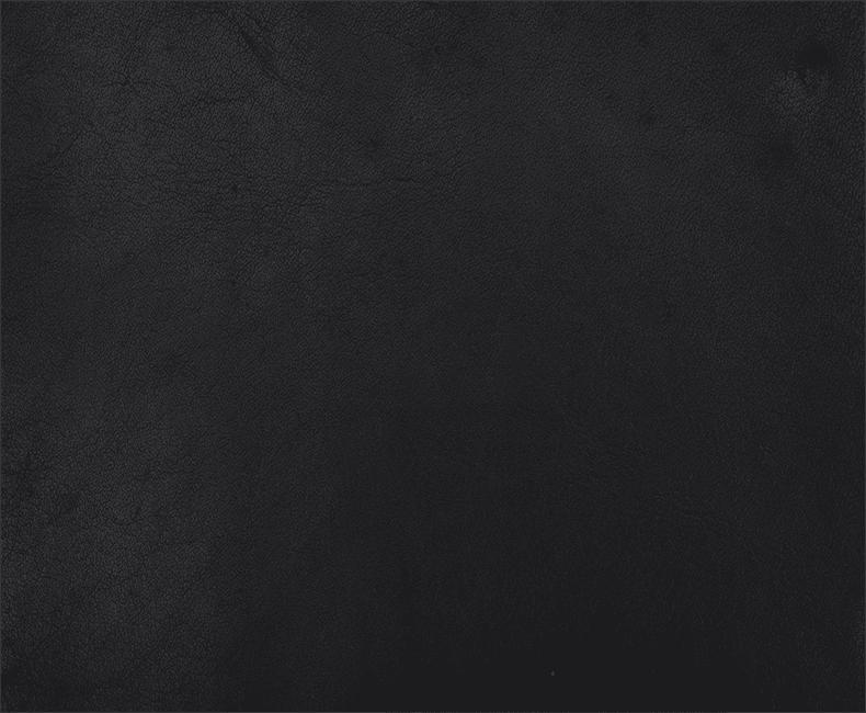 Water Buffalo Leather - Crystal Black